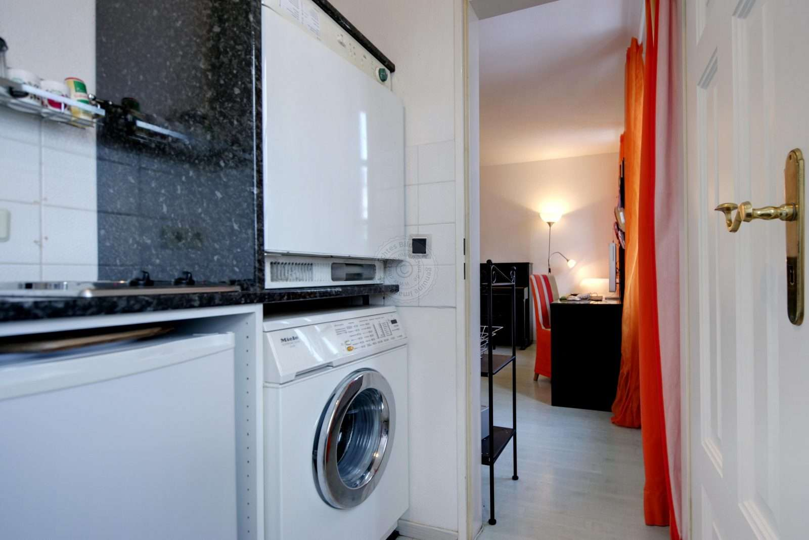 Washing is also possible in the apartment