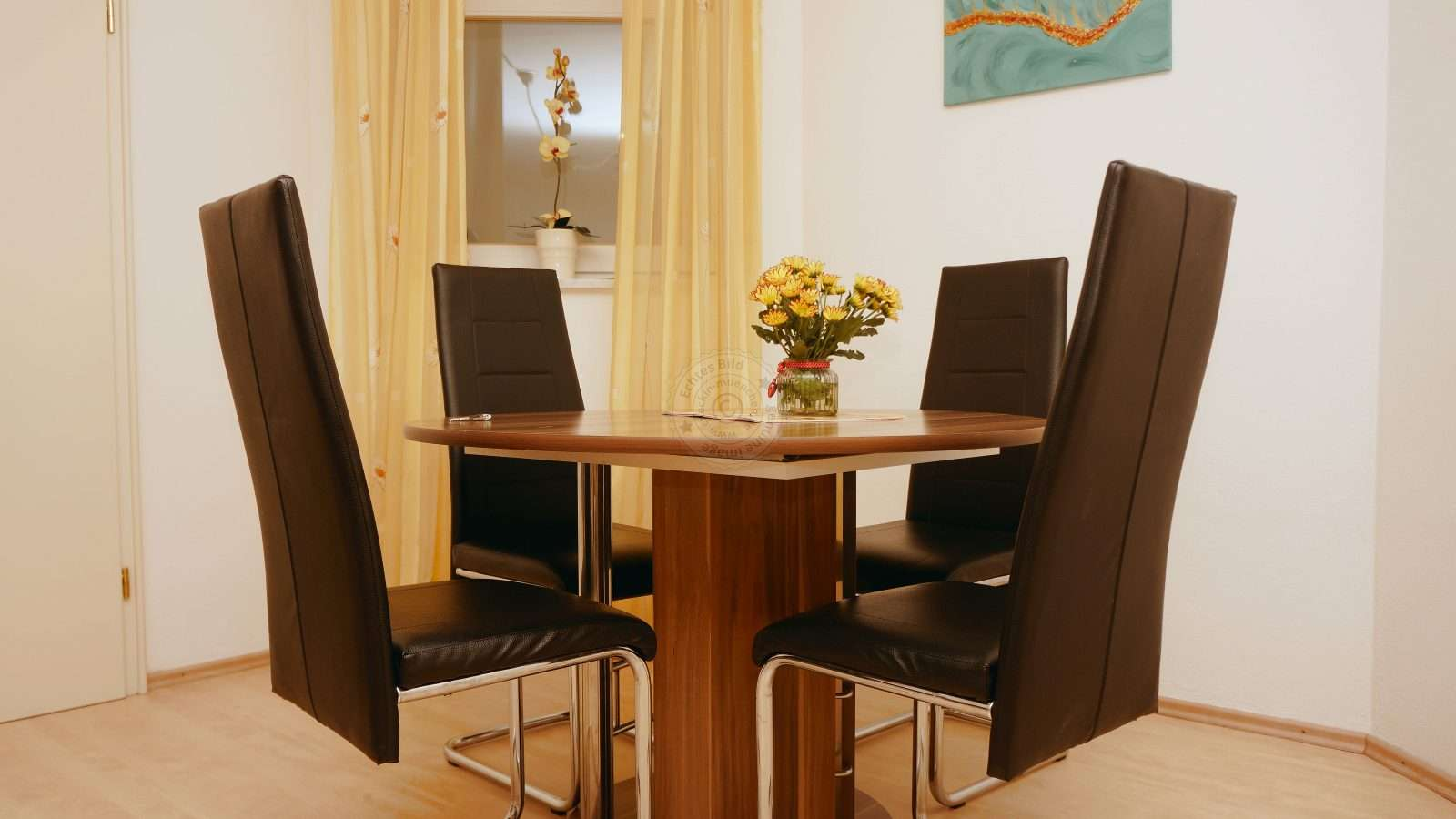 Dinette in the living room